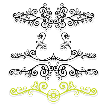 vector ornament In flower style Stock Vector - 1470303
