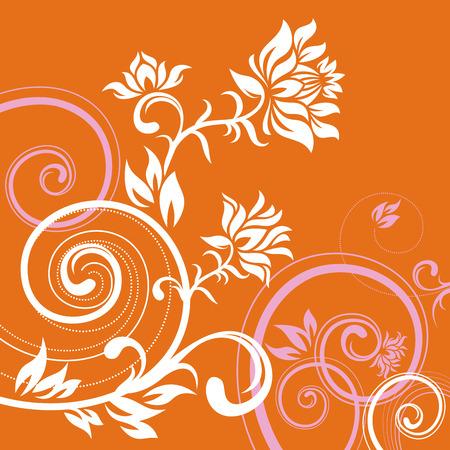 fancy border: En Vector ornamento de flores estilo