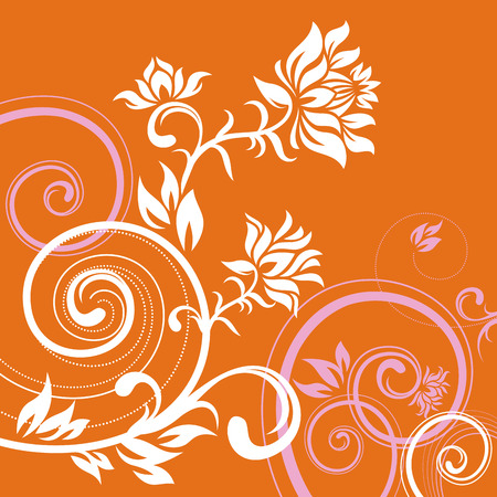 vector ornament In flower style Stock Vector - 1638322