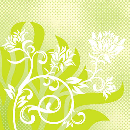 vector ornament In flower style Stock Vector - 1638327