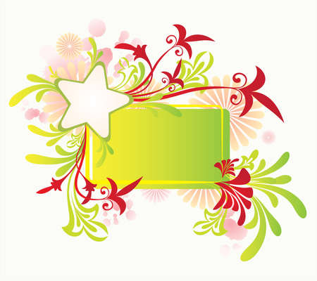 vector ornament In flower style Stock Vector - 2435980