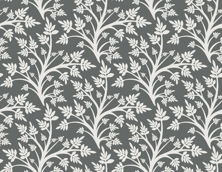 Seamless background in floral style, fashionable modern wallpaper or textile Stock Vector - 2564590