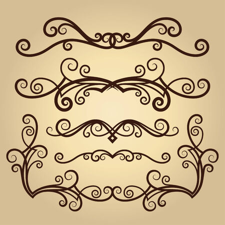 Vektor Ornament im Stil Blume Vektorgrafik