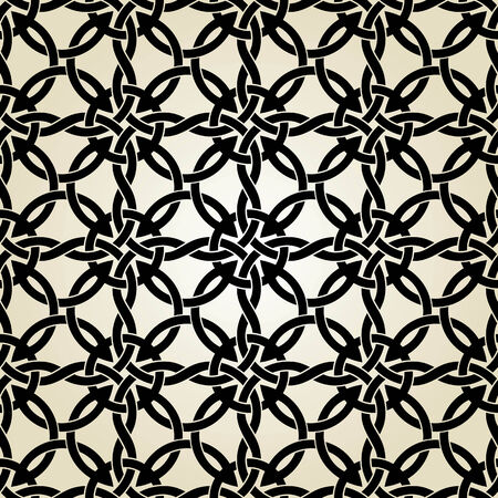 celtic background: Seamless background from a celtic ornament, Fashionable modern wallpaper or textile Illustration