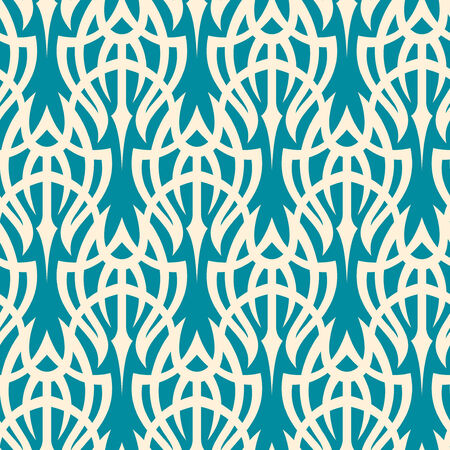 Seamless background from a tribal ornament, Fashionable modern wallpaper or textile Stock Vector - 3657150