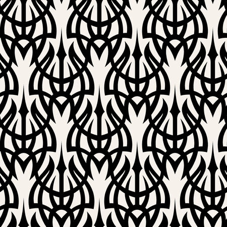 Seamless background from a tribal ornament, Fashionable modern wallpaper or textile Stock Vector - 3834747