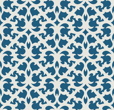 floral tracery: Seamless background from a floral ornament, Fashionable modern wallpaper or textile