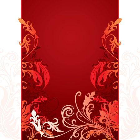 vector ornament In flower style Stock Vector - 4511933