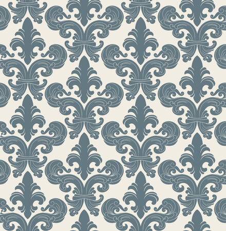 Seamless background from a floral ornament, Fashionable modern wallpaper or textile Stock Vector - 4578244