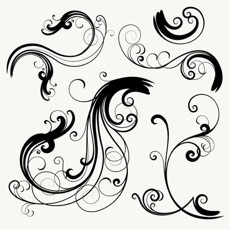 vector ornament In flower style Stock Vector - 4926758
