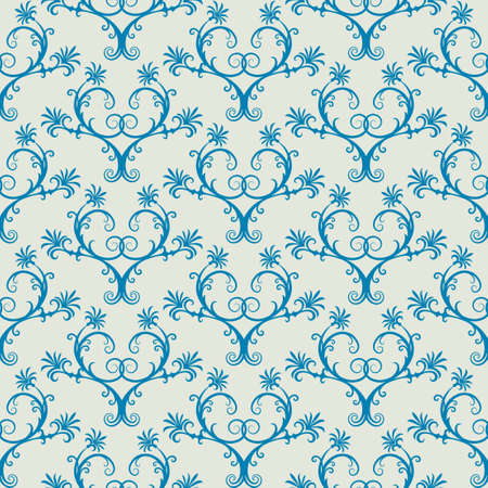 Seamless background from a floral ornament, Fashionable modern wallpaper or textile Stock Vector - 4926779