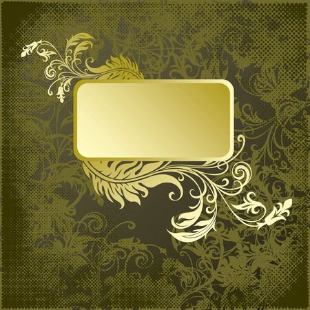 vector ornament In flower style Stock Vector - 4965836