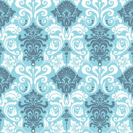 Naadloze achtergrond van een floraal ornament, Fashionable modern behang of textiel