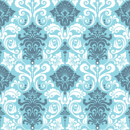Seamless background from a floral ornament, Fashionable modern wallpaper or textile Stock Vector - 4972160