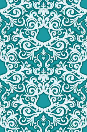 Seamless background from a floral ornament, Fashionable modern wallpaper or textile Stock Vector - 4972156