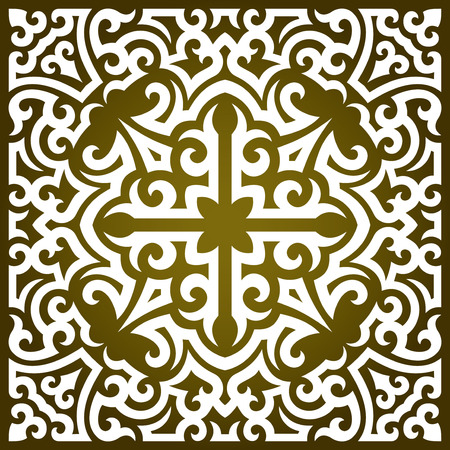 vector ornament In tribal style