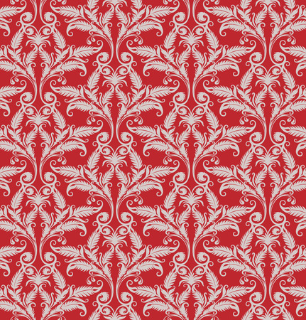 Seamless background from a floral ornament, Fashionable modern wallpaper or textile Stock Vector - 5031223