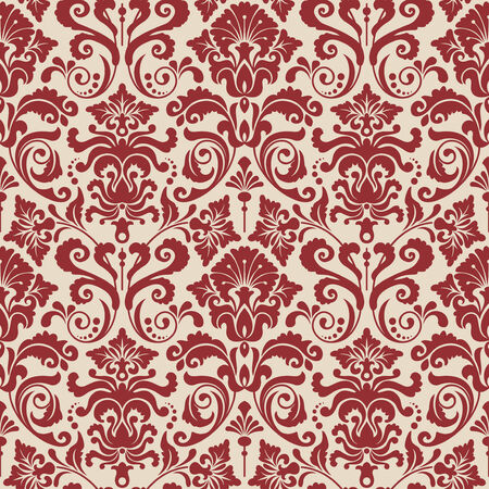 Seamless background from a floral ornament, Fashionable modern wallpaper or textile Stock Vector - 5031215