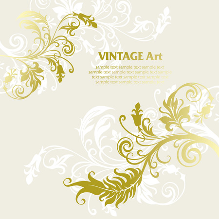 vector ornament In flower style Stock Vector - 5053549