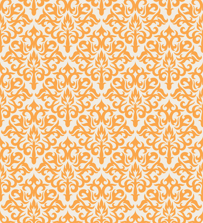 Seamless background from a floral ornament, Fashionable modern wallpaper or textile Stock Vector - 5053569