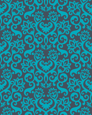 Seamless background from a floral ornament, Fashionable modern wallpaper or textile Stock Vector - 5220303