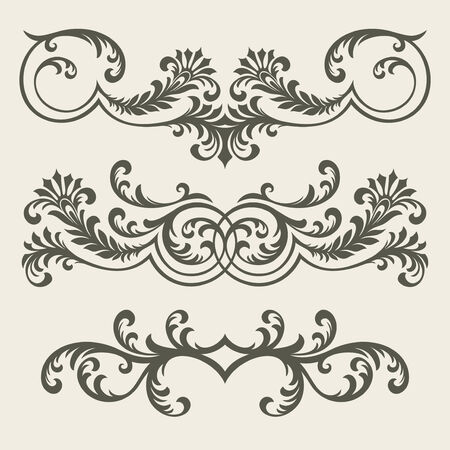 vector ornament In flower style Stock Vector - 5581671