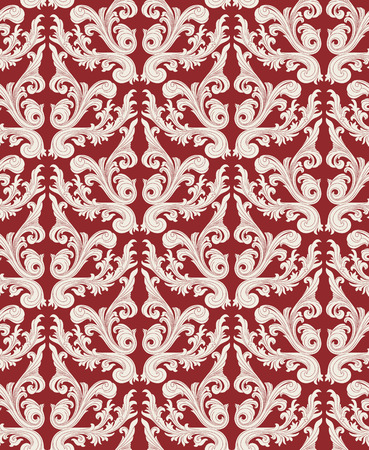 Seamless background from a floral ornament, Fashionable modern wallpaper or textile Stock Vector - 5581714