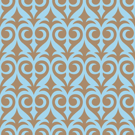 Seamless background from a floral ornament, Fashionable modern wallpaper or textile Stock Vector - 5581716