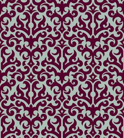 Seamless background from a floral ornament, Fashionable modern wallpaper or textile Stock Vector - 5670516