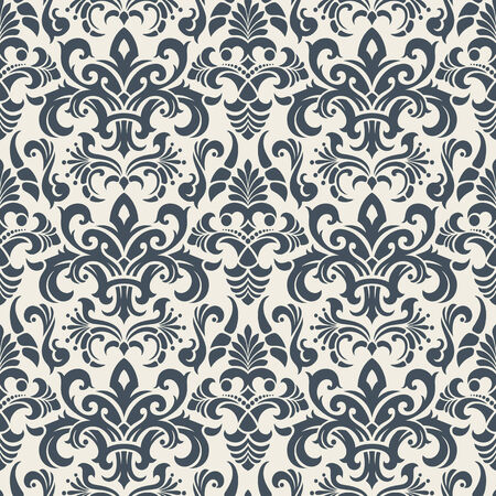 Seamless background from a floral ornament, Fashionable modern wallpaper or textile Stock Vector - 5670521