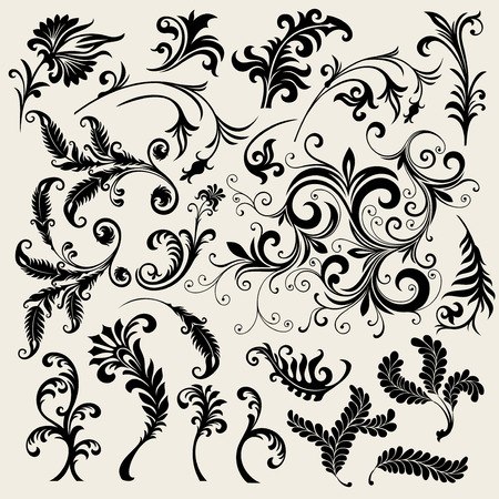 ornament In flower style Stock Vector - 6551091