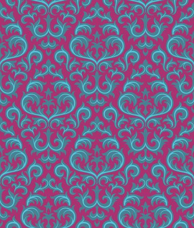 Seamless background from a floral ornament, Fashionable modern wallpaper or textile Stock Vector - 6551184