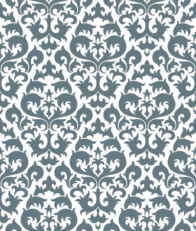 Seamless background from a floral ornament, Fashionable modern wallpaper or textile Stock Vector - 6584679