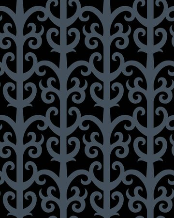 Seamless background from a gothic ornament, Fashionable modern wallpaper or textile Stock Vector - 6584677