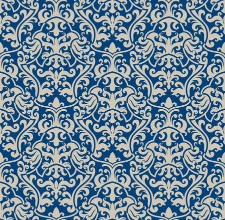 Seamless Background aus floral Ornament, modische moderne Wallpaper oder textile