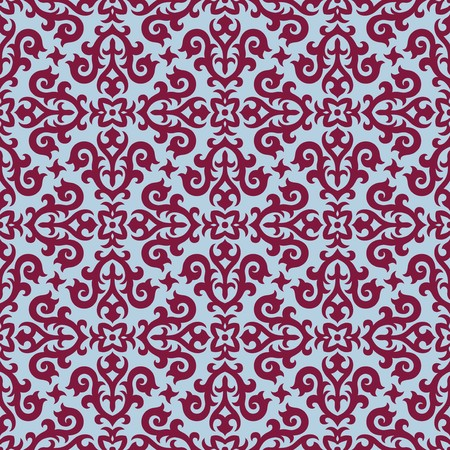 Seamless background from a floral ornament, Fashionable modern wallpaper or textile Stock Vector - 7011451
