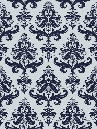 Seamless background from a floral ornament, Fashionable modern wallpaper or textile Stock Vector - 7031986
