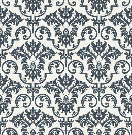 Seamless background from a floral ornament, Fashionable modern wallpaper or textile Stock Vector - 7031939