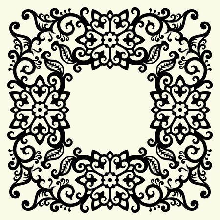 Bilderrahmen verzieren ornamente  Barock Rahmen Lizenzfreie Vektorgrafiken Kaufen: 123RF