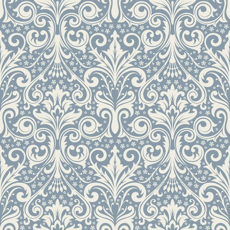 victorian: Seamless background from a floral ornament, Fashionable modern wallpaper or textile