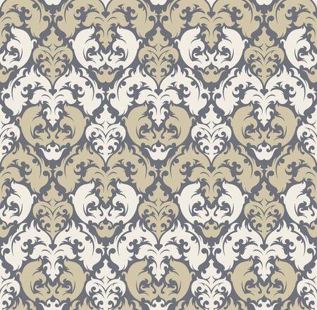 Seamless background from a floral ornament, Fashionable modern wallpaper or textile Stock Vector - 7103701