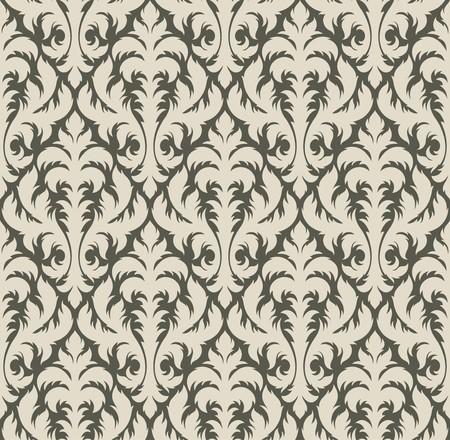 Fondo transparente de una ornamentación floral, moda de papel tapiz moderno o textil Foto de archivo - 7103703