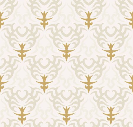 Seamless background from a floral ornament, Fashionable modern wallpaper or textile Stock Vector - 7103700
