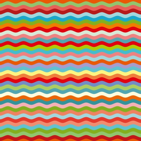 colorful repeating strip seamless pattern