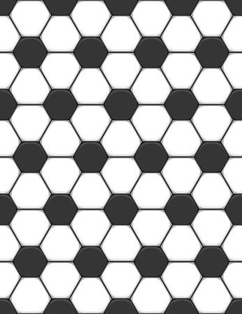 seamless texture on a soccer theme