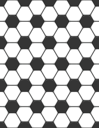 curve ball:  seamless texture on a soccer theme