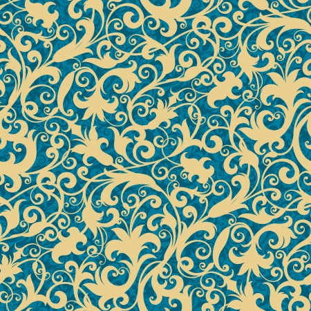 wallpapers: Seamless background from a floral ornament, Fashionable modern wallpaper or textile