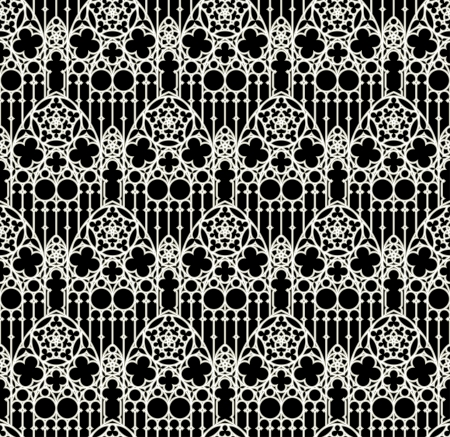 vector seamless background in gothic style Stock Vector - 21730254