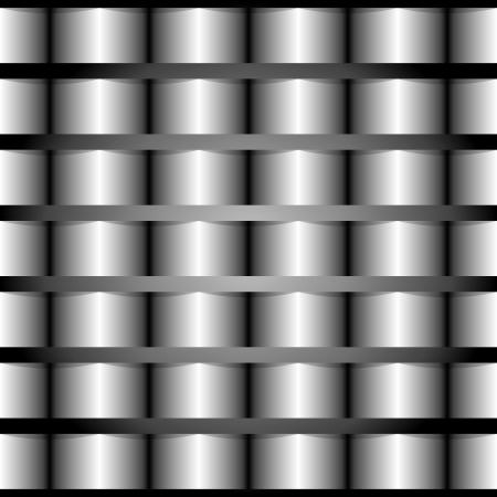 vector seamless background imitation polished metal Stock Vector - 25203256