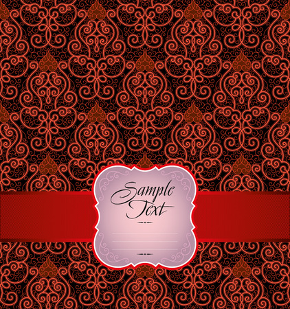 guipure: Seamless background from a ornament, Fashionable modern wallpaper or textile Illustration